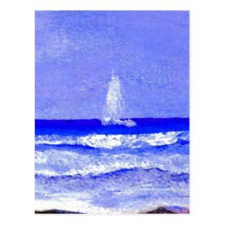 Ghost Sails CricketDiane Ocean Art Postcard