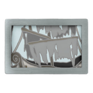 Ghost Ship Belt Buckles