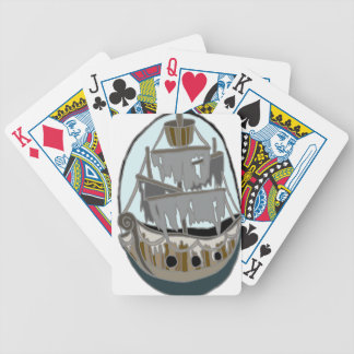 Ghost Ship Bicycle Playing Cards