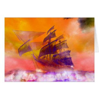 Ghost Ship Card