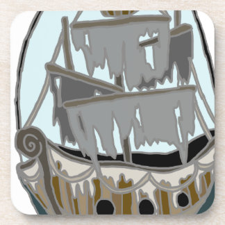 Ghost Ship Coaster