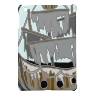 Ghost Ship iPad Mini Cover
