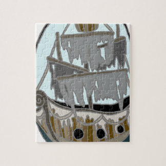 Ghost Ship Jigsaw Puzzle