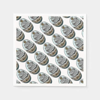 Ghost Ship Paper Napkins