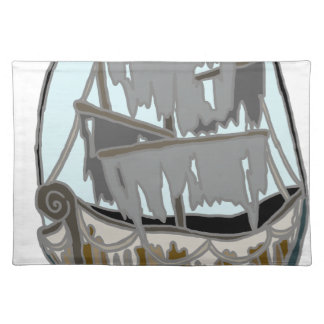 Ghost Ship Placemat