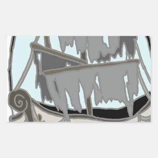 Ghost Ship Sticker