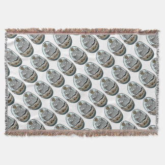 Ghost Ship Throw Blanket
