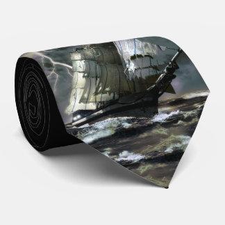 Ghost Ship Tie