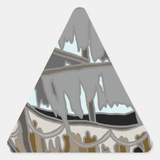 Ghost Ship Triangle Sticker
