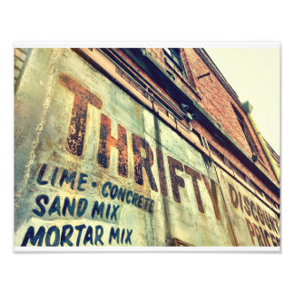 Ghost Sign Art Photo