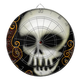 Ghost Skull Dartboard