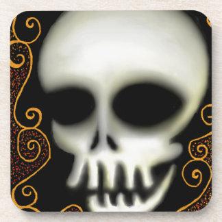 Ghost Skull Drink Coasters