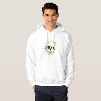 Ghost Skull Face Halloween Spooky Gif Hoodie