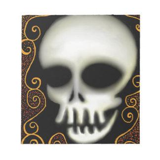 Ghost Skull Notepads