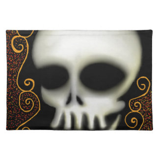 Ghost Skull Placemat