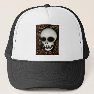 Ghost Skull Trucker Hat
