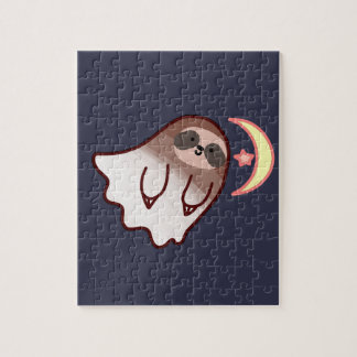 Ghost Sloth Jigsaw Puzzle