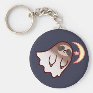 Ghost Sloth Keychain