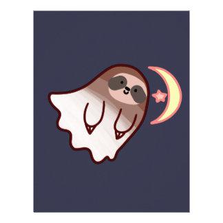 Ghost Sloth Letterhead
