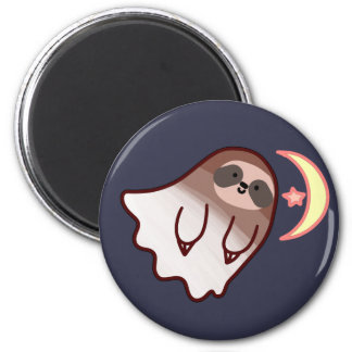 Ghost Sloth Magnet