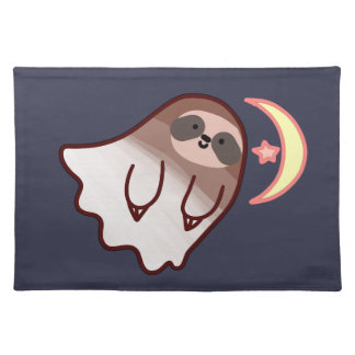 Ghost Sloth Placemat