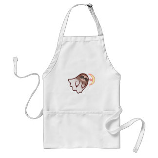 Ghost Sloth Standard Apron