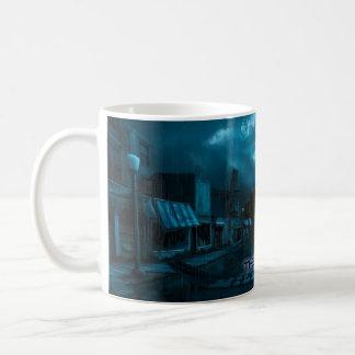 Ghost Town Classic White Coffee Mug