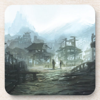 Ghost Town Drink Coaster