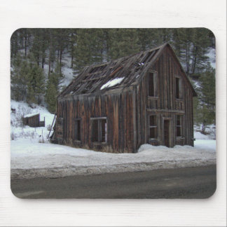 Ghost Town in Winter Mouse Pad