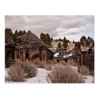 Ghost Town Postcard