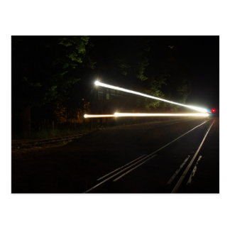 Ghost Train Postcard