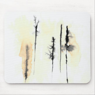 Ghost Trees 4 Mouse Pad
