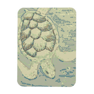 Ghost Turtle Flexible Magnet