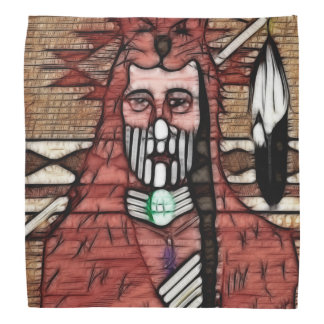 Ghost Warrior Native American Kerchief