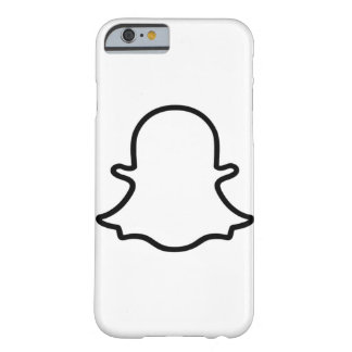 Ghost - White Barely There iPhone 6 Case