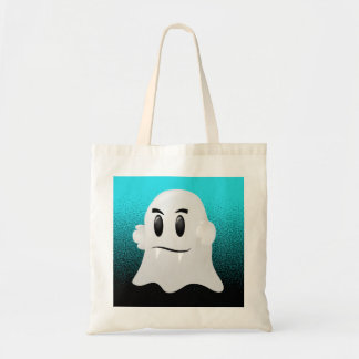 Ghost with Fangs Tote Bag