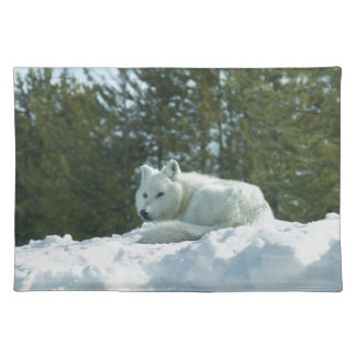 Ghost Wolf Placemats