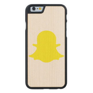 Ghost - Yellow Carved Maple iPhone 6 Case