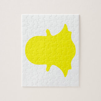 Ghost - Yellow Jigsaw Puzzle