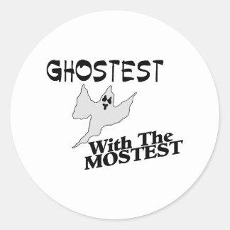 Ghostest Sticker