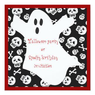Ghostie invitation