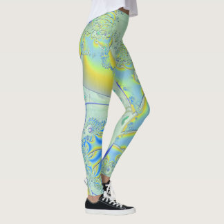 Ghosting 3D Fractal Leggings