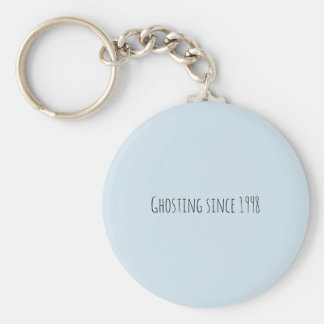 ghosting since 1998 keychain