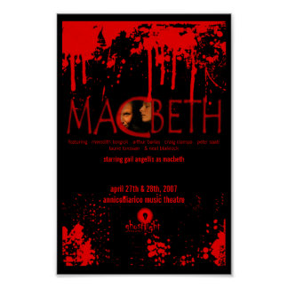 Ghostlight Macbeth Poster