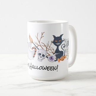 Ghostly Encounters Halloween Mug |