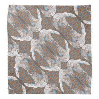 Ghostly Falcon Pattern Bandana