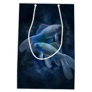 Ghostly Fish Medium Gift Bag