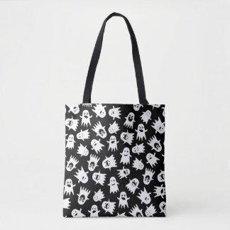 Ghostly Hauntings Tote Bag
