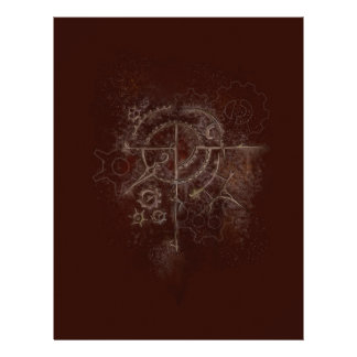 Ghostly SteamPunk Motif Letterhead