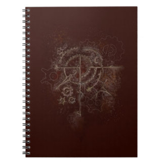 Ghostly SteamPunk Motif Notebooks